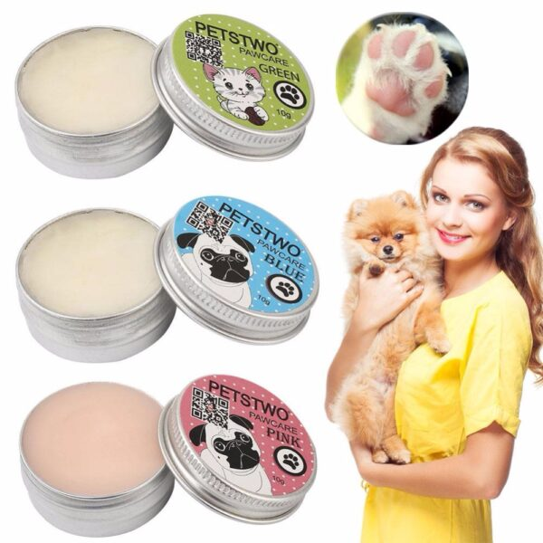 Pet paw care cream